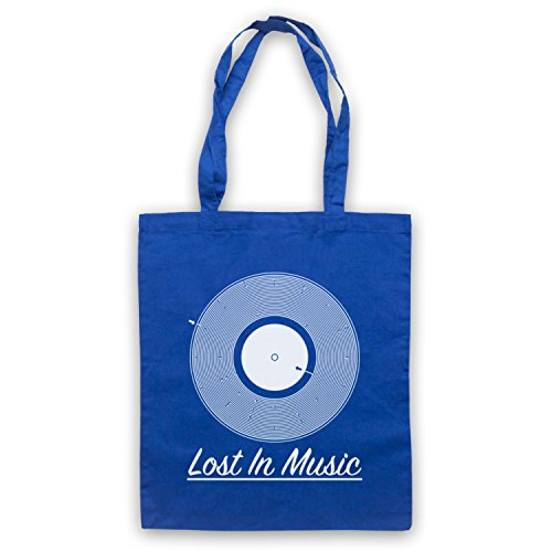 Tote Royal Groove Music Vinyl Lost Blue Record In Maze Bag 6Fg6wY