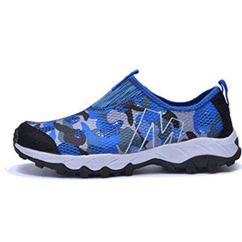Sneakers 35 Femme 44 Chaussure Lacet Basket Respirant À La Aquatique Mer Bleu Plage Sport Homme Sans Pour 76xdwUwq