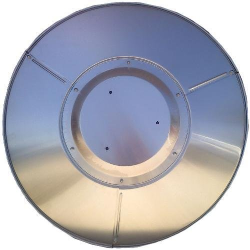 Patio Heater Hiland Heat Reflector Shield (3 Hole Mount) Most Common FCPTHP-SHIELD 3HOLE by FIREPLACE CLASSIC PARTS