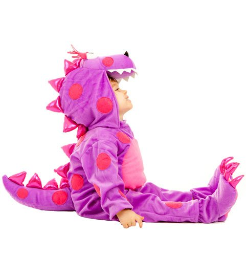 Princess Paradise Baby's Teagan The Dragon Deluxe Costume, As Shown, 6 to 12 months -