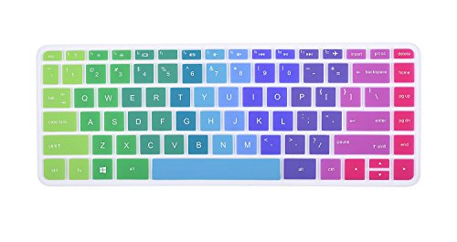 Picture of a Colorful Keyboard Cover for HP 753210238526