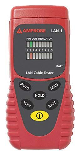 AMPROBE LAN Cable Tester Display: LED Adapter Type: RJ-45 ()