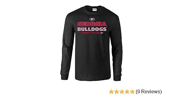 Elite Fan Shop Georgia Bulldogs Tshirt Arch Black