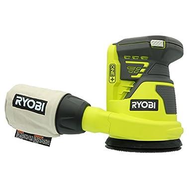 Ryobi P411 ONE+ 18-Volt 5 in. Cordless Random Orbit Sander (Tool-Only)