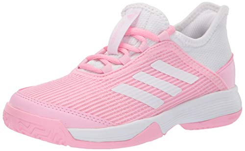 Adidas Kids Adizero Club, true pink/white/white, 2 M US Little Kid