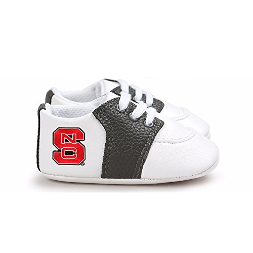 Future Tailgater NC State Wolfpack Pre-Walker Baby Shoes - Black - Nc Pajamas Wolfpack State