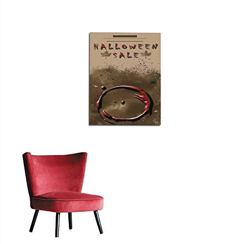 longbuyer Painting Post Halloween Sale Festival Event Announcement Vertical Template in Spice Colors Mural 32