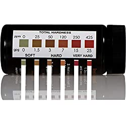 JNW Direct Water Total Hardness Test Strips, 150 Strip MEGA Pack, Best Kit for Accurate Water Quality Testing to Determine Soft or Hard Water