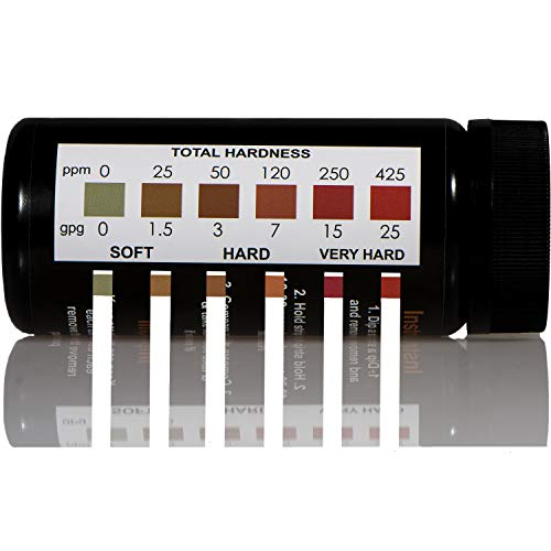 (JNW Direct Water Total Hardness Test Strips, Best Kit for Accurate Water Quality Testing to Determine Soft or Hard Water, 150 Strip MEGA Pack)