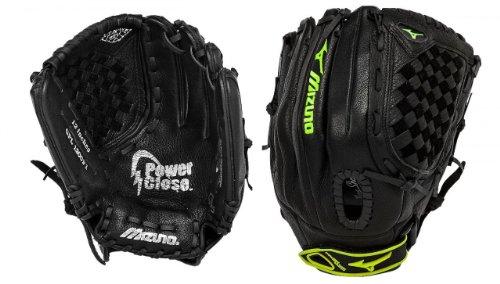 Mizuno Prospect Series 12 Inch Fastpitch Softball Glove Tartan Hilo Black… – DiZiSports Store