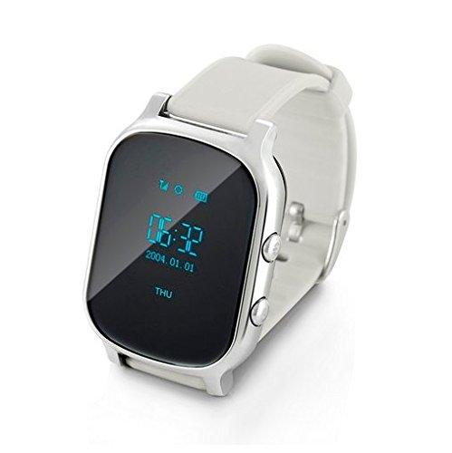 Pulsera Inteligente,Posicionamiento GPS, los Relojes de posicionamiento de la Tercera Edad, Anillo