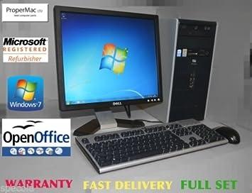 HP Desktop PC System 17