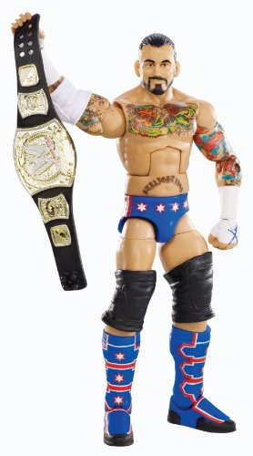 [WWE Elite Collection CM Punk Action Figure] (Cm Punk Wrestling Costume)
