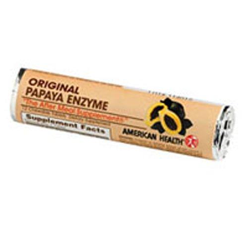 (American Health Original Papaya Enzyme Chewable - 16 Rolls)