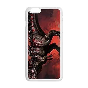Scary Creative Dinosaur Custom Protective Hard Phone Cae For Iphone 6 Plus