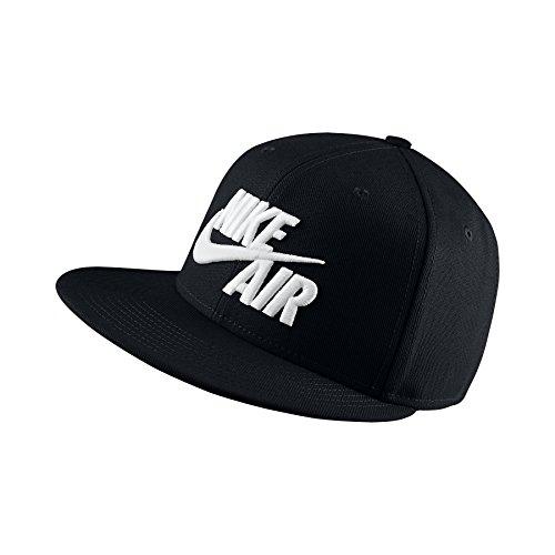 Nike Mens Air True Snapback Hat Black/White
