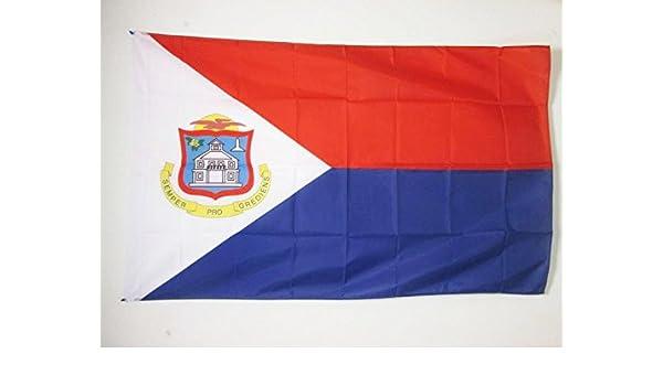 AZ FLAG Bandera de Sint Maarten 150x90cm para Palo - Bandera San ...