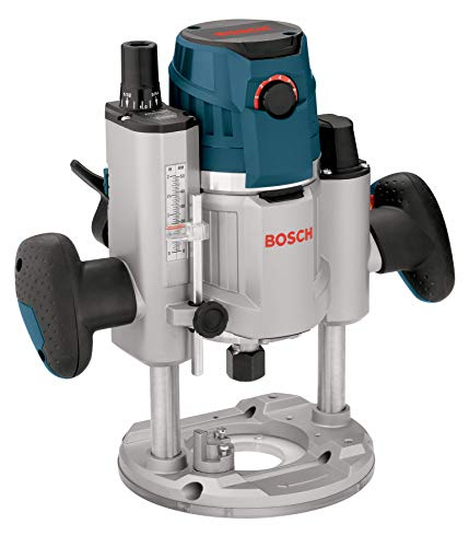 (Bosch 120-Volt 2.3 HP Electronic Plunge Base Router MRP23EVS)