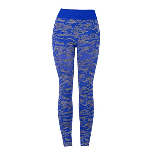 LiLiMeng New Women Tight Digital Camouflage Yoga Sports Pants Lady Hip High Waist Thread Pant Tummy Control Shapewear
