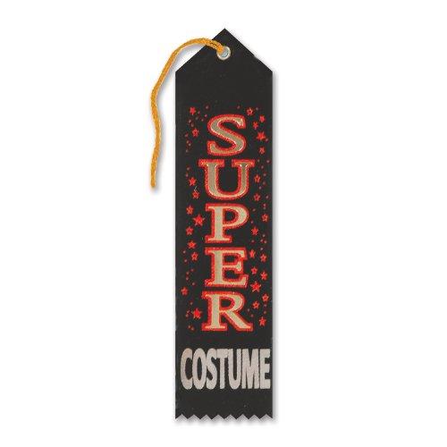 Beistle HAR511 Super Costume Award Ribbon, 2