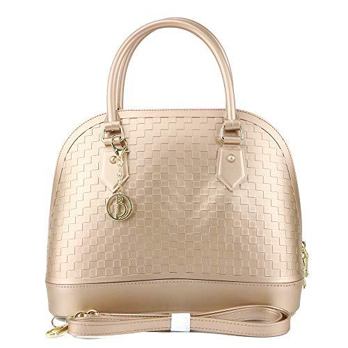 Ratbag Ladies Bag 2018 Nouvelle Mode Pvc Femelle Speck Matte Shell Pack Grande Capacité Or Rose