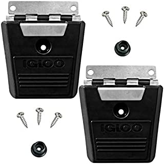 product image for Igloo Pack of 2 Cooler Hybrid Stainless/Plastic Latch Post & Screws