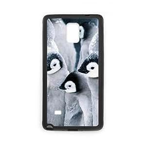 Diy Cute Penguin Animal Custom Cover Phone Ipod Touch 4 Black Shell Phone [Pattern-4]