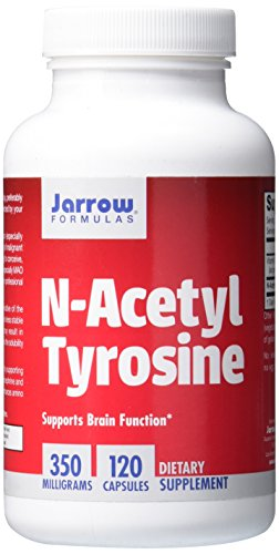 Jarrow Formulas N-Acetyl Tyrosine, Supports Brain Function, 350 mg, 120 Caps