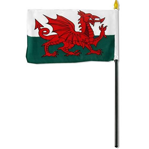 Kaputar 4x6 Wales Stick Flag Table STF Desk Table | Model FLG - 7713
