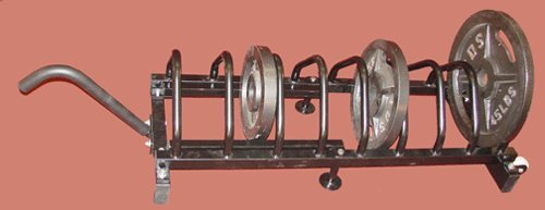 Horizontal Plate Storage Rack