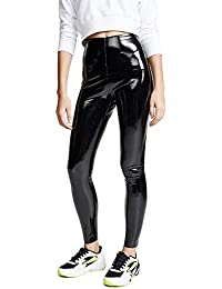Women's Faux Patent Leather Perfect Control Leggings