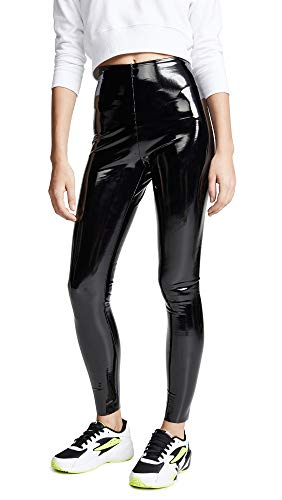x Patent Leather Perfect Control Leggings, Black, Medium ()