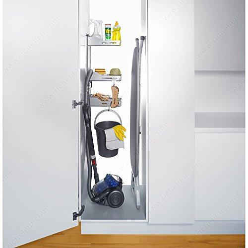 Sesam Storage System for Broom Closet, by handyct