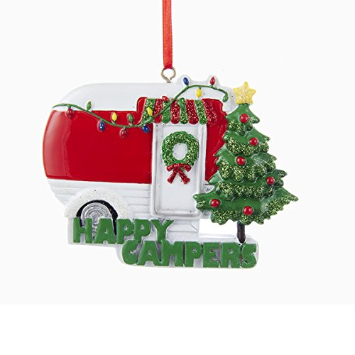 Happy Campers Caravan made our list of the most unique camping Christmas tree ornaments to decorate your RV trailer Christmas tree with whimsical camping themed Christmas ornaments!
