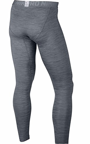 Nike Men's Pro Tights (XX Large, Heather/White/Grey Silver)
