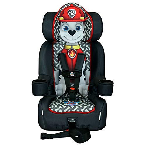 Princess Booster - KidsEmbrace 2-in-1 Harness Booster Car Seat, Nickelodeon Paw Patrol Marshall
