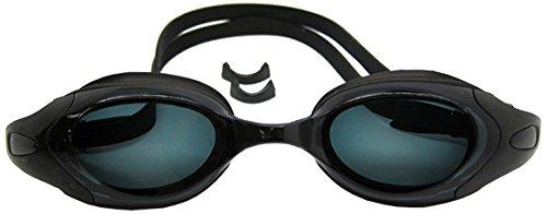 Scuba Choice Black UV Nearsighted Prescription Corrective Optical RX Lenses Swimming Goggles, - Optical Rx