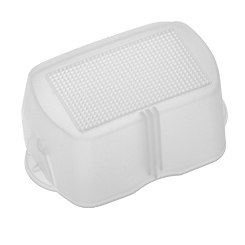 Pixel Flash Bounce Light Diffuser Dome for Nikon SB-700 Speedlite Flash (White) (Dome Light Diffuser)