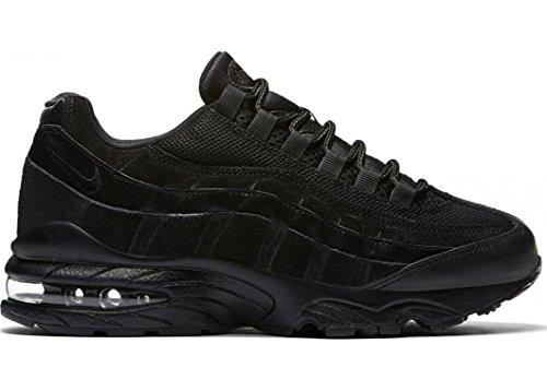 Nike Unisex-Kinder Air Max 95 (GS) Sneaker Schwarz (Black/Black-Black 055)