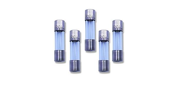 VG/_S 5pcs F10AL250V F10L250V Cartridge Glass fuses 5X20mm New F10AL F10A 250V F10 L250V