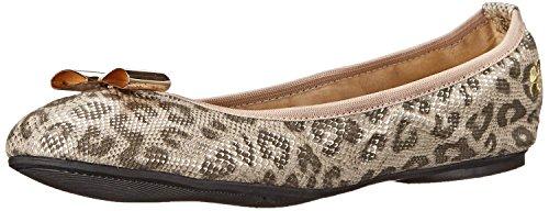 Butterfly Twists Chloe Leopard Snake Mujeres Ballerinas Flats Zapatos
