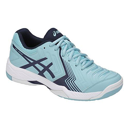 Asics Gel Game 6 Womens Tennis Shoes Porcelain Blue/White