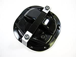 Premium Quality Ford Mustang 8.8 Aluminum Differential Cover Rear End Girdle System (Black)