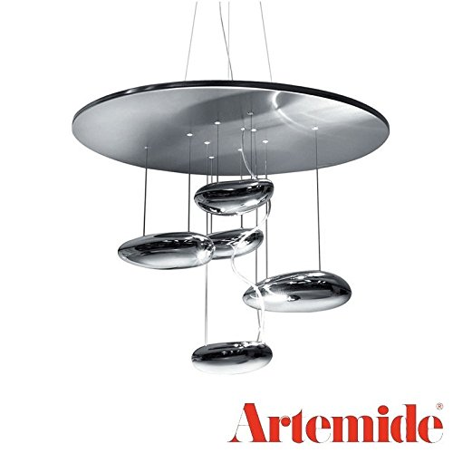 Artemide Mercury Mini Pendant Suspension Lamp 1479010A LED 14W R7s 1600lm