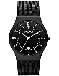 Men's 233XLTMB Grenen Black Titanium Mesh Watch