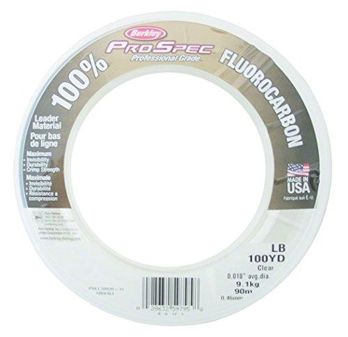 Berkley Pro Spec Fluorocarbon 0.036-Inch Diameter Fishing Line