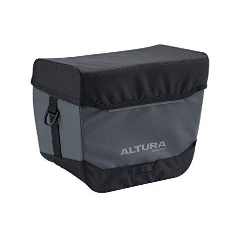 Altura Grey-Black Dryline 2-7 Litre Road Bike Handlebar Bag