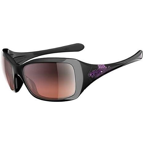 51386738e31b0 Amazon.com  Oakley Gretchen Bleiler Oakley Ravishing Women s Special  Editions Signature Series Casual Sunglasses Eyewear - Color  Polished  Black G40 Black ...