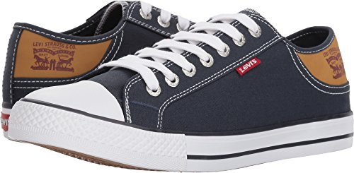 Levi's Men's Stan Buck Navy/Brown Casual Shoe 8.5 Men US