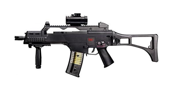 Set: HK Heckler & Koch G36 C AEG Rifle de Airsoft eléctrico ...